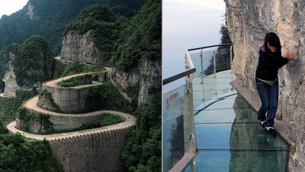 Dirty Glass Bridge Gives Spots