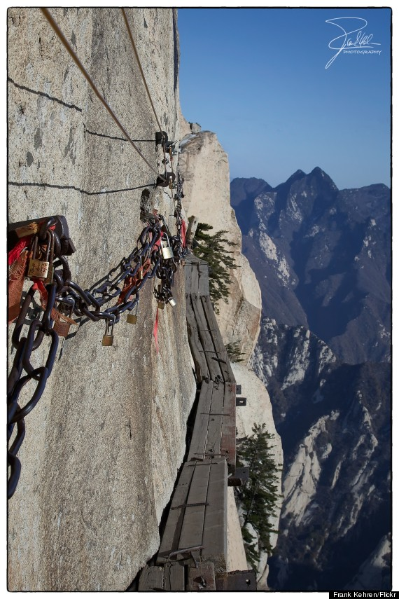 Shiyan China  City new picture : ... bike trails in the world Mount Hua Shan Zhangjiajie Tianmen Mountain