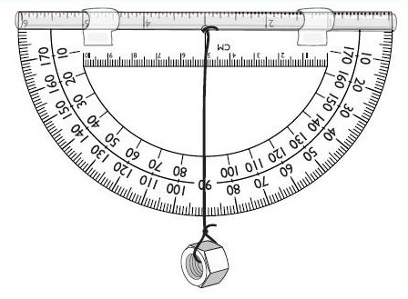 homemade-clinometer